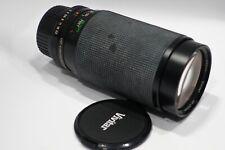 Vivitar 35-200mm 1:3. 0-4.5 Zoom Obiettivo macro si adatta Contax Yashica C/Y MOUNT