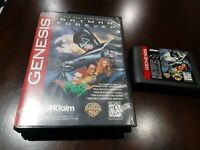 Batman Forever (Sega Genesis, 1995)   Cartridge and  case