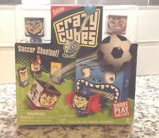 CRAZY CUBES SOCCER SHOOTOUT SHOOT PLAY COLLECT SET OF 2 CUBES 3 MARBLES + NIB