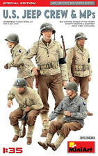 U.S. Jeep Crew & MPS. Special Edition (5 Figures) 1/35 MiniArt  35308