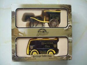"""Heritage Collection  """" Ringtons Tea """"   Horse and Cart.  and  Electric Van.  see"""