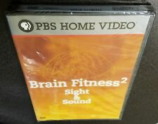 Brain Fitness 2: Sight and Sound (DVD, 2009) PBS Home Video Eli Brown NEW