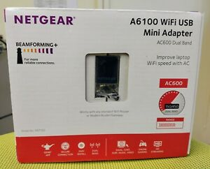 19x NETGEAR A6100-100PES USB WiFi AC600 802.11ac Dual Band 150/433 Mini Adapter