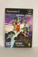 PlayStation 2 PS2 Demo Disc Version 2.2 Zone Enders Stars Wars Army Men ATV HTF