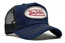 VON van DUTCH MESH TRUCKER BASE CAP [DENIM BLUE BLACK] KAPPE MÜTZE BASECAP  Von