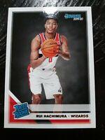 2019-20 Donruss Rated Rookie Base #208 Rui Hachimura RC - Washington Wizards