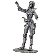 *Pirate girl captain* Tin toy soldier. Collection 54mm miniature metal figurine