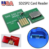 NEWSD Card Adapter Card Reader For GameCube SD2SP2 SDLoad SDL Port 2 #US