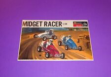 "Monogram ""MIDGET RACER""  10 3/4"" x 6 3/4"" Pit Box  Decal"
