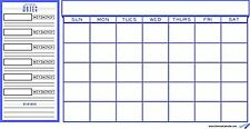 College Student Planner and Wall Calendar - Purple - Monthly Calendar, Class ...