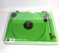 U-TURN AUDIO Green Plinth Orbit Custom w/ CUE & Grade Blue 1 Cartridge Acrylic