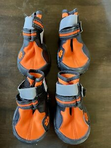 Dog Boots, Waterproof, Anti-Slip, Paw Protection, Adjustable Strap