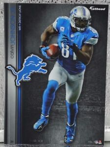 """Calvin Johnson 5 Fathead Detroit Lions NFL Decal 7"""" Tradables 🎁FREE SHIPPING🎁"""