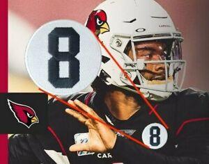 Larry Wilson Patch 8 Memorial Football Jersey Patch IRON ON Arizona Cardinals
