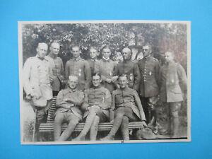 Foto ~ Flieger - Jagdstaffel 26 / Jasta / Staffelführer / u.a.: Göring & Loerzer