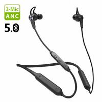 Avantree Bluetooth 5.0 Neckband Headphones Active Noise Cancelling Earbuds w/Mic