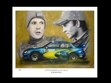 Peter Solberg & Phil Mills: Wru - Fine Art Print Signed by Artist