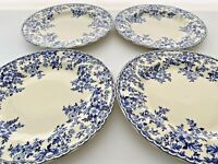 Set of Four Johnson Brothers Devon Cottage Dinner Plates