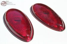 38-39 Ford Passenger Car Hot Rat Street Rod Custom Tail Lamp Light Lenses New