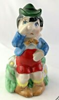 Vintage - J.S.N.Y. - PINOCCHIO - Figurine Porcelain Bell - Rare