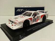 Slot car SCX Scalextric Fly 88239 Lancia Beta Montecarlo 24H. Le Mans 1981 Nº68