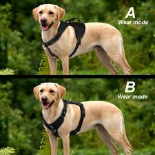 Dog Harness Medium No Pull Reflective Padded Vest Walking Harness S M L XL Black