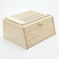 brotkasten brottopf brotdose brotbox aus holz zirbelkiefer arve zirbe ebay. Black Bedroom Furniture Sets. Home Design Ideas