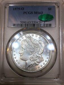 1879-O Morgan Silver Dollar PCGS MS63 CAC Beautiful Coin Rare Date