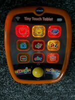 Vtech Baby Tiny Touch Tablet Baby Babies ABC Animals Numbers Light Up Sounds Toy