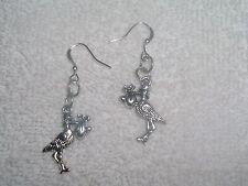 Stork Bird Baby Pair of Earrings Jewelry Piercing Fashion Handmade