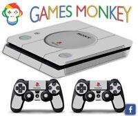 Skin PS4 SLIM - RETRO CLASSIC - Cover Adesiva Vinile Lucido HD Playstation 4