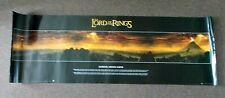 """Mordor, Middle Earth"" The Lord Of The Rings poster 53x159cm 21x62.5"" LOTR"