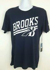 Brooks Run Happy Blue Running Performance T Shirt Mens Size M NWT