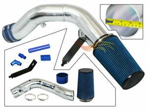 BLUE 03-07 F250 F350 F450 F550 Excursion SuperDuty 6.0L Diesel Cold Air Intake