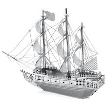 Disney Authentic✿Metal Earth Model 3D Kit✿Pirates of Caribbean Ship Black Pearl