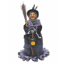 Witches of Pendle - Hazel Standing Witch (purple) 50cm
