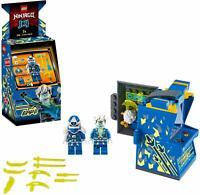 LEGO Ninjago 71715 Avatar Ninja Jay Arcade Kapsel Blau Spielautomat Figur