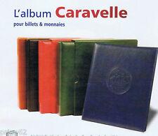 ALBUM CARAVELLE Vert pour BILLETS AVEC 10 RECHARGES