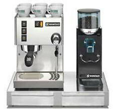 Espresso Machine Maker Rancilio Silvia M & Rocky doserless Grinder with Base