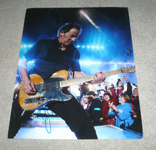 BRUCE SPRINGSTEEN SIGNED BORN IN THE USA TO RUN 11X14 CONCERT PHOTO W/COA PROOF