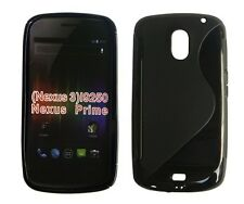 Curve S-line TPU Gel Case Cover for Samsung Galaxy Nexus + Free Screen Protector