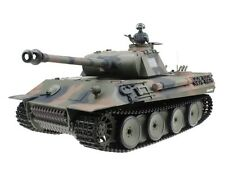 1:16 German Panther RC Tank Airsoft Remote Control Smoke & Sound 2.4GHz New
