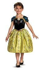 Anna Costume Medium 7/8 Girls Frozen Anna Costume Disguise Disney Frozen NEW