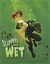 """CREATURE FROM THE BLACK LAGOON ART PRINT ~ SIGNED ANT LUCIA 11""""x14"""""""