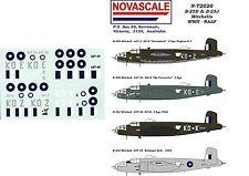RAAF B-25D&J Mitchells Decals 1/72 Scale N72020