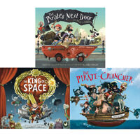 Jonny Duddle Collection Pirate Series 3 Books Set The Pirates Next Door PACK NEW