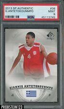 2013-14 SP Authentic #36 Giannis Antetokounmpo RC Rookie PSA 9 MINT