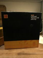 Kodak Carousel Transvue 140 Projector Slide Tray w/ Box Vintage Original Likenew