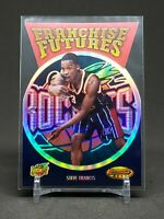 1999-00 Topps Steve Francis RC, Rookie Franchise Futures Holo, Rockets