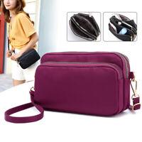 Women Waterproof Wallet Shoulder Bag Crossbody Nylon Messenger Small Purse